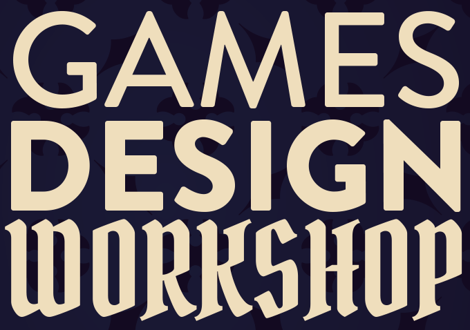 Games Design Workshop with James Wallis