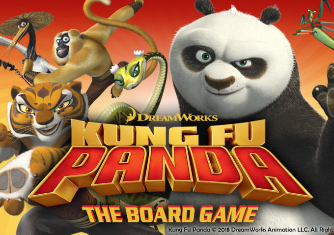 Kung Fu Panda: The Board Game - Play It At Draughts!
