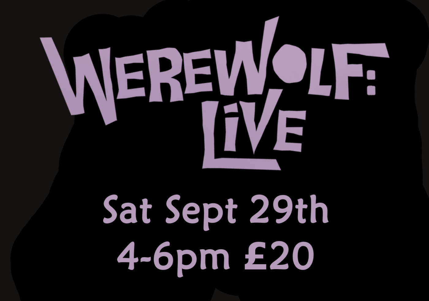 Werewolf Live: An Interactive Comedy Show!