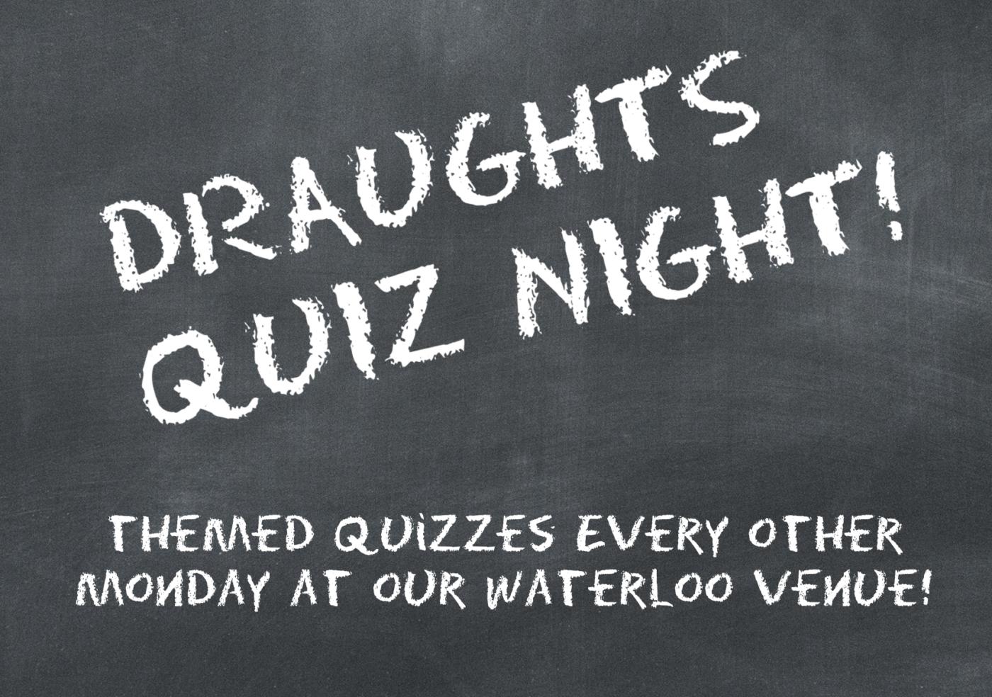 Draughts Quiz Night - Disney Films